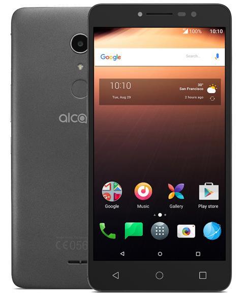 Alcatel A3 XL 16GB Cep Telefonu Siyah (Teşhir Ürünü)