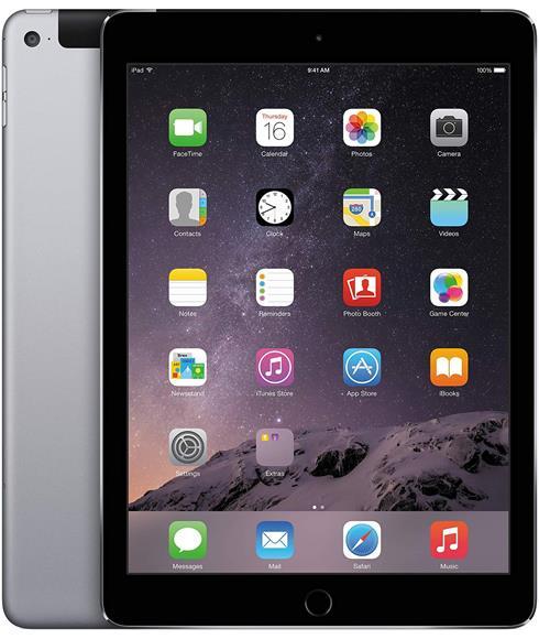 Apple İpad Air 2 MGGX2TU/A 16GB Wi-fi + 4G Uzay Grisi (Teşhir Ürünü)