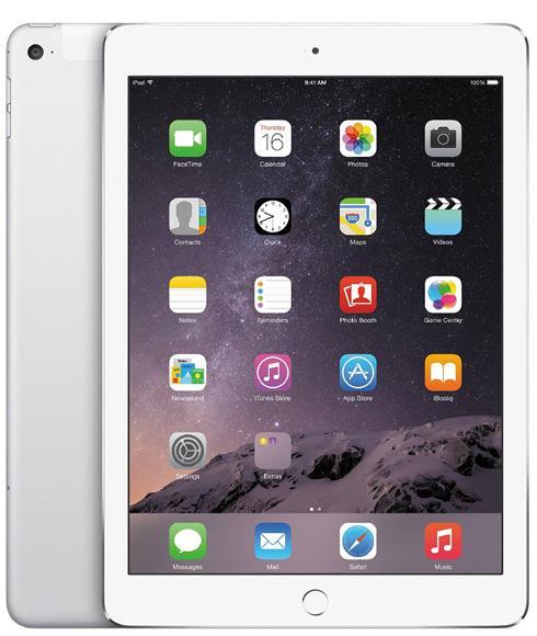 Apple İpad Air 2 MGH72TU 16GB Wi-fi + 4G Tablet Gümüş (Teşhir Ürünü)
