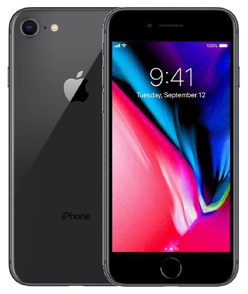 Apple İphone 8 64GB Cep Telefonu Siyah (Outlet Ürün)