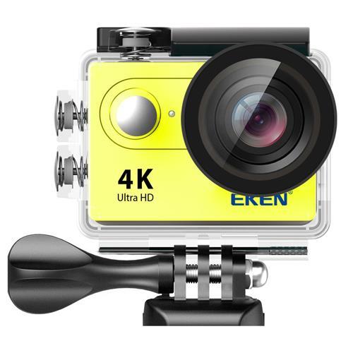Eken H9R 4K Ultra HD Wifi Aksiyon Kamera - Sarı