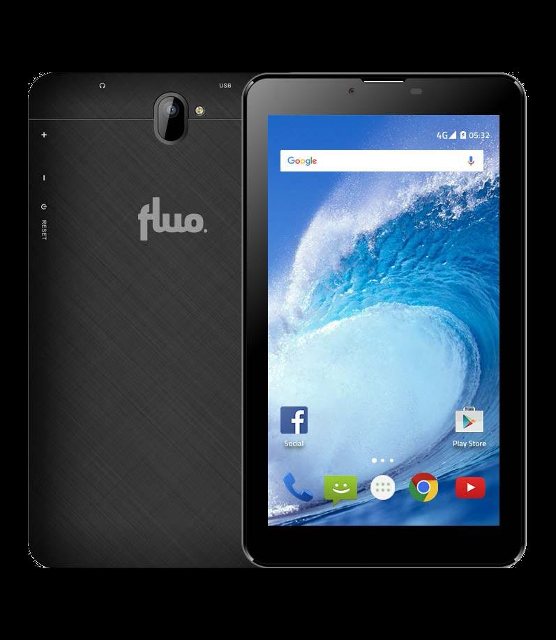Fluo Jazz Tablet, 7'', 8 GB , Siyah Outlet