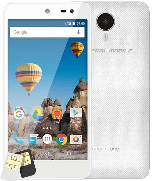 General Mobile GM5 16GB Cep Telefonu Beyaz (Teşhir Ürünü)