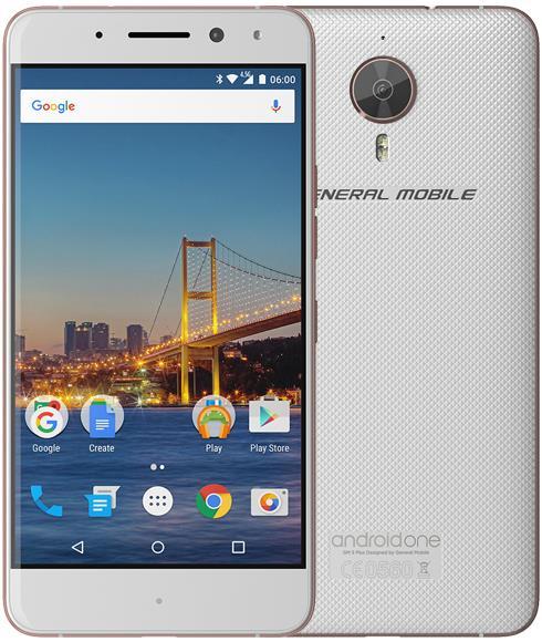 General Mobile GM5 Plus 32GB Cep Telefonu Beyaz (Teşhir Ürünü)