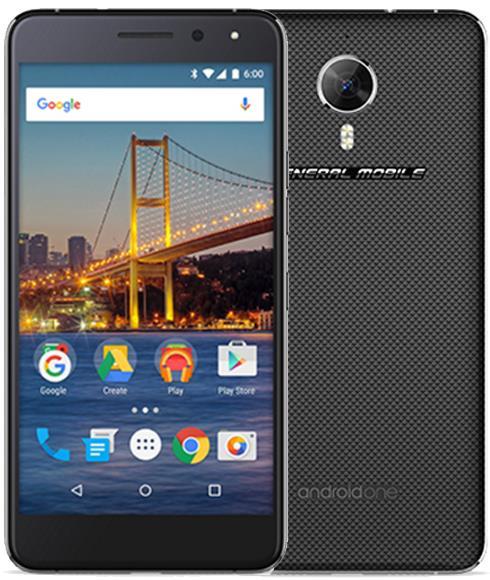 General Mobile GM5 Plus 32GB Cep Telefonu Siyah (Teşhir Ürünü)