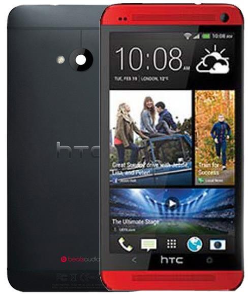 HTC One M7 32GB Cep Telefonu Kırmızı (Teşhir Ürünü)