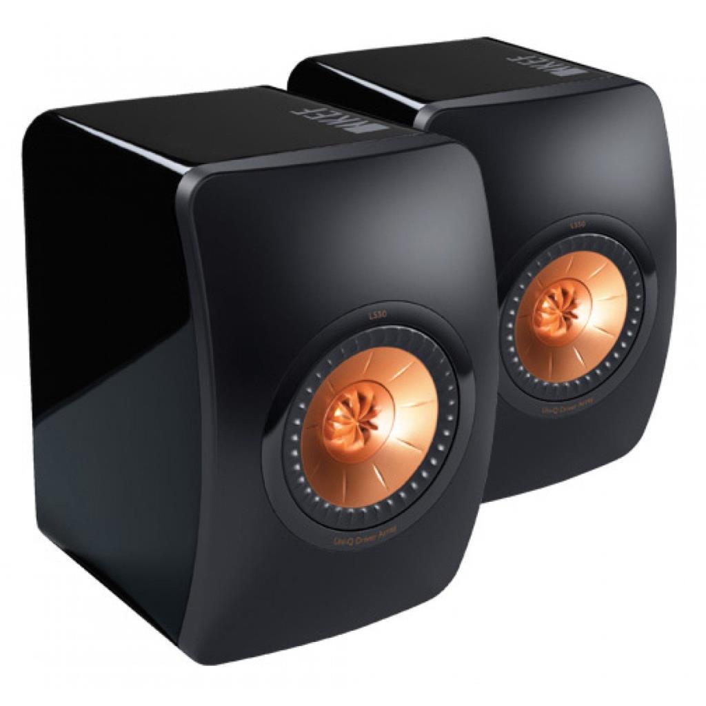 KEF LS50 Hi-Fi Pasif Hoparlör Seti, Siyah