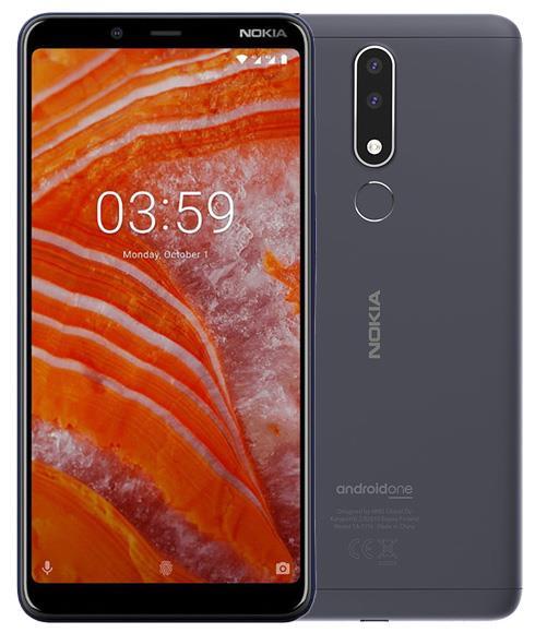 Nokia 3.1 Plus 32GB Cep Telefonu Siyah (24 Ay KVK Garantili)