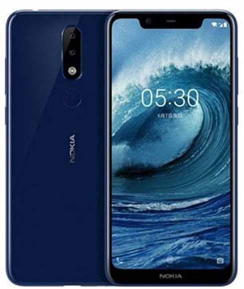 Nokia 5.1 Plus 32GB Mavi (Nokia Türkiye Garantili)