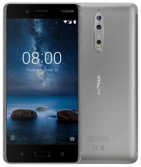 Nokia 8 64GB Gümüş (İthalatçı Garantili Outlet ürün)