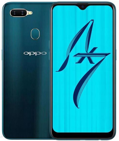 Oppo AX7 64GB / 3GB Cep Telefonu Mavi (Oppo Türkiye Garantili)