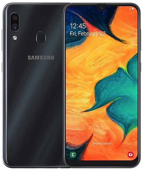 Samsung Galaxy A30 64GB Siyah (Samsung Türkiye Garantili)