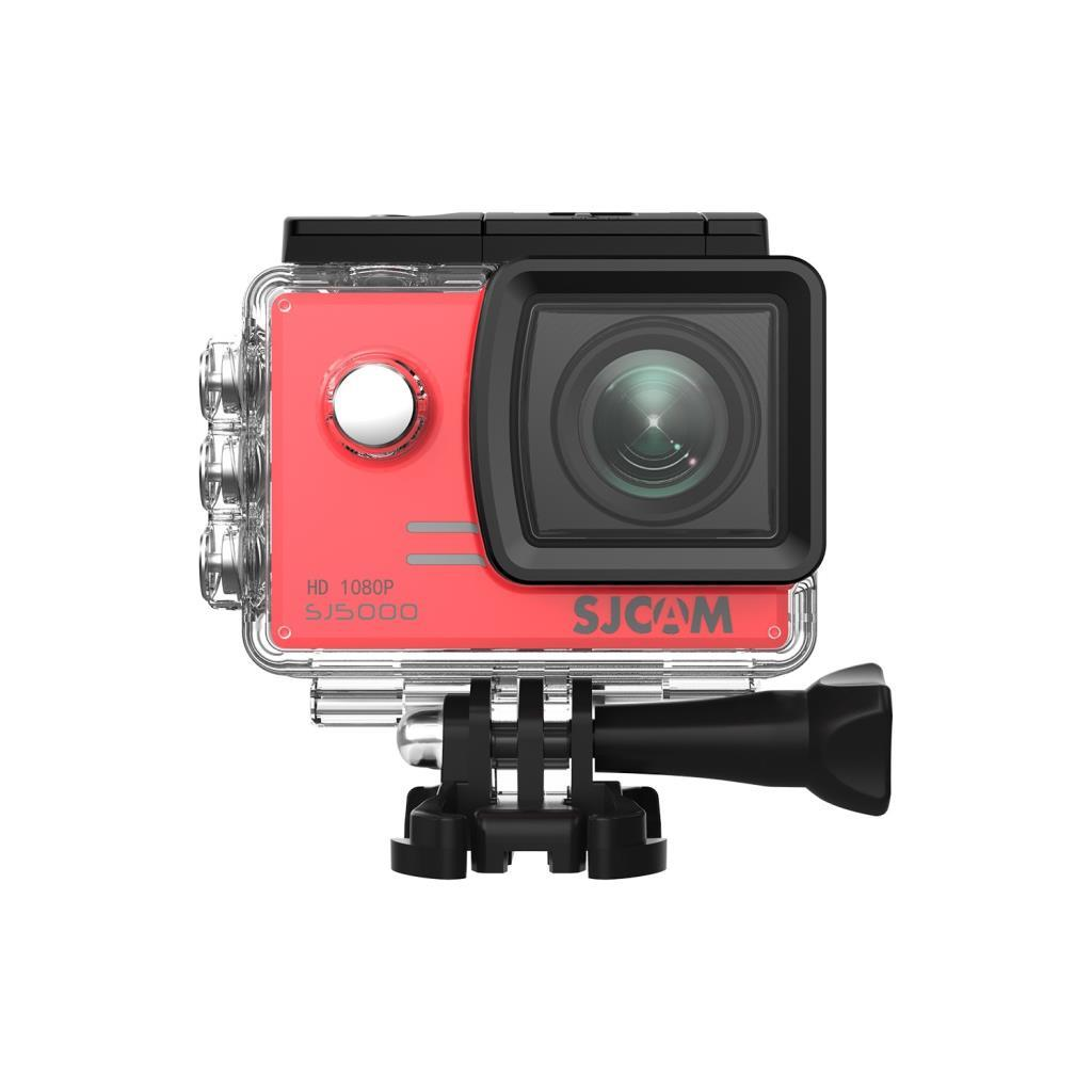 SJCAM SJ5000 Full HD Aksiyon Kamerası-Kırmızı
