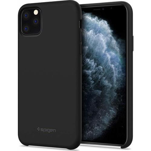 Spigen Silicone Fit Serisi Kılıf iPhone 11 Pro ile