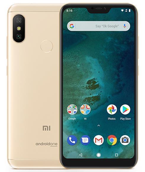Xiaomi Mi A2 Lite 64GB / 4GB Çift Sim Cep Telefonu Gold (İthalatçı Garantili)