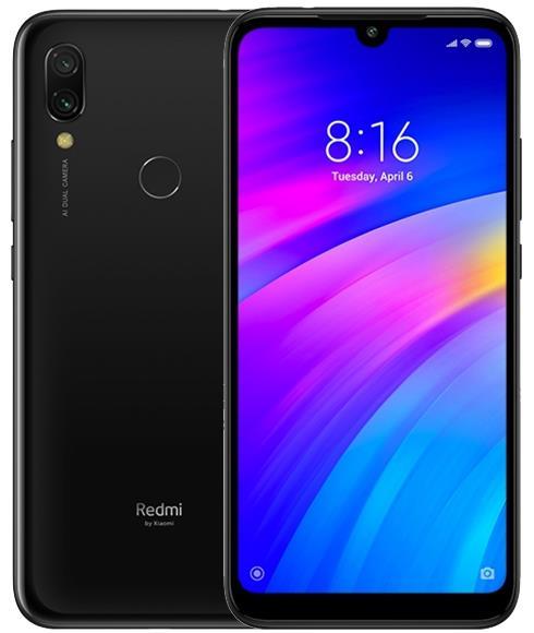 Xiaomi Redmi 7 32GB / 3GB Çift Sim Cep Telefonu Siyah (İthalatçı Garantili)