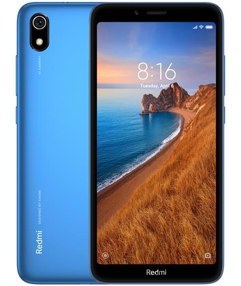 Xiaomi Redmi 7A 16GB Çift Sim Cep Telefonu Mavi (İthalatçı Garantili)